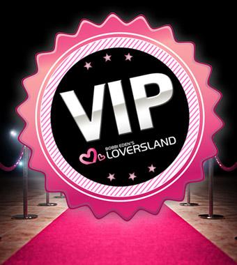 Samen als VIP naar Bobbi Eden's Loversland